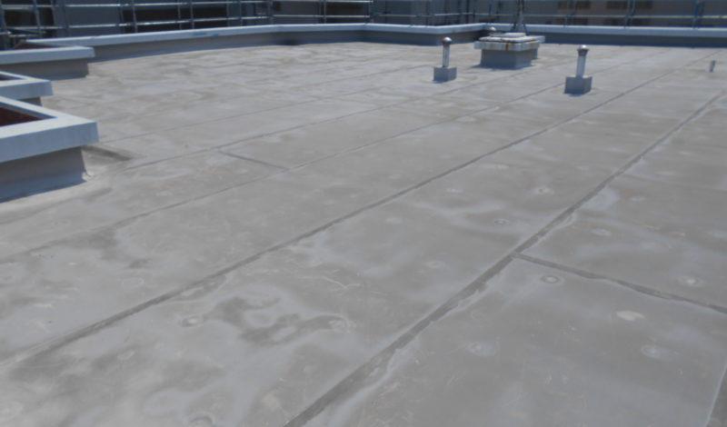 豊中Mマンション屋上シート防水完成しました。 : Before