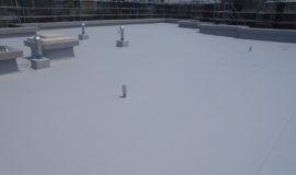 豊中Mマンション屋上シート防水完成しました。 : After